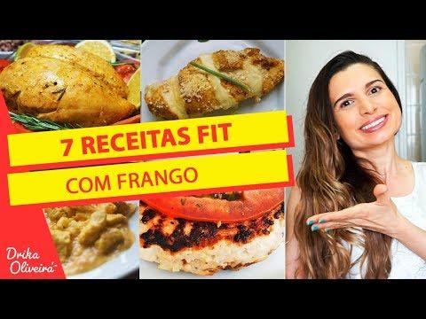 7 RECEITAS FIT COM FRANGO / Receita Saudável - Drika Oliveira