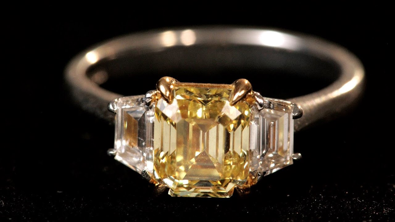 What Are Fancy Colored Diamonds?  Diamond Rings