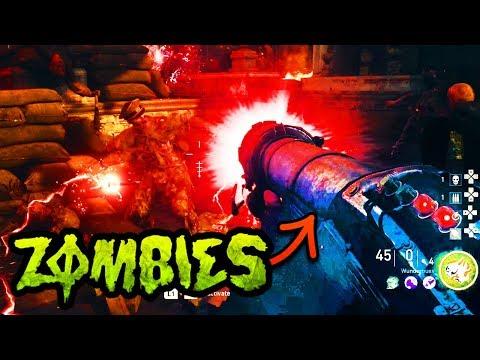SHADOWED THRONE WONDER WEP GUIDE!! (How to build WUNDERBUSS Tutorial WW2 Zombies DLC2)