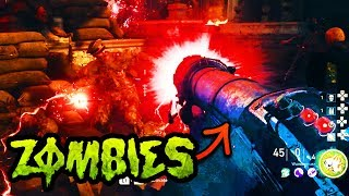 SHADOWED THRONE WONDER WEP GUIDE!! (How to build WUNDERBUSS Tutorial WW2 Zombies DLC2)