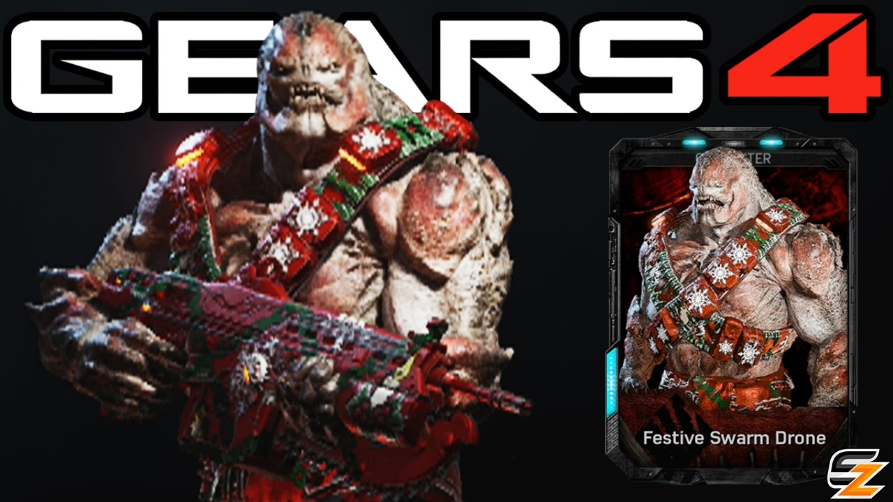 Gears Of War 4 Festive Swarm Drone Multiplayer