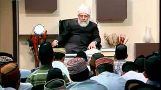 Gulshan-e-Waqfe Nau Atfal, 15 Nov 2009, Educational class with Hadhrat Mirza Masroor Ahmad(aba)