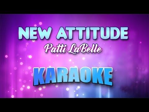 Patti LaBelle - New Attitude (Karaoke version with Lyrics)