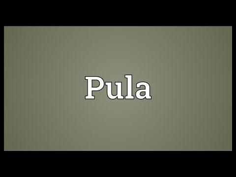 Pula Meaning