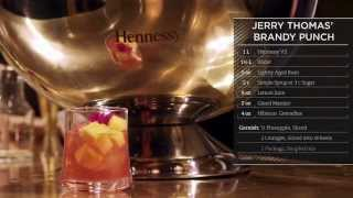 Hennessy Recipes: Brandy Punch