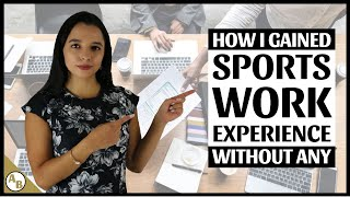 Sports Work Experience   How to Get it NOW