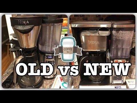 New Ninja vs. Old Ninja - Ninja Coffee Bar