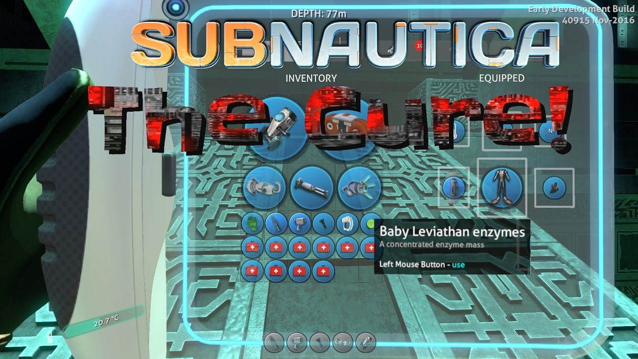 The CURE for Carar! | Subnautica News #29 / Subnautica gameplay