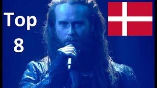 Eurovision 2018 My Top 8  So Far New UK Denmark