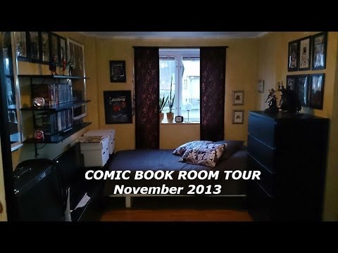Comic book room tour - November 2013