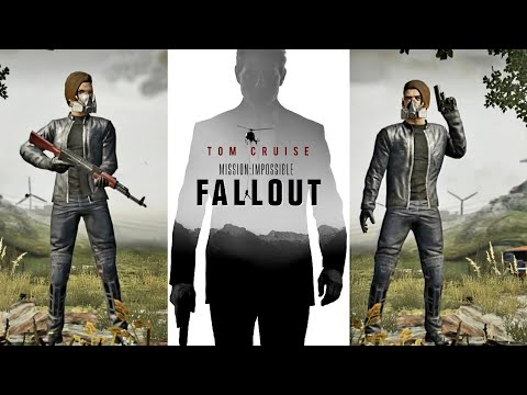 Mission Impossible Fallout Outfit Male & Female - Pubg Mobile