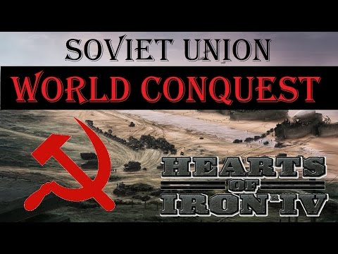 Hearts of Iron IV Soviet Union / Russia World Conquest Ironman 1