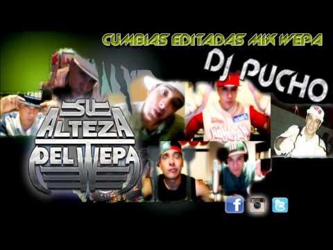 CUMBIAS EDITADAS MIX PARTE 4 - DJ PUCHO MASTERMIX - Kumbias Con Wepa