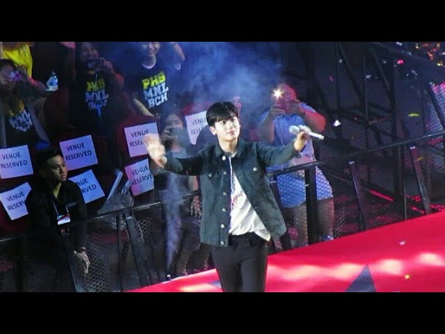 Park Hyungsik Sings Ost Of Strong Woman Do Bong Soon At Bench Funmeet In Moa Arena