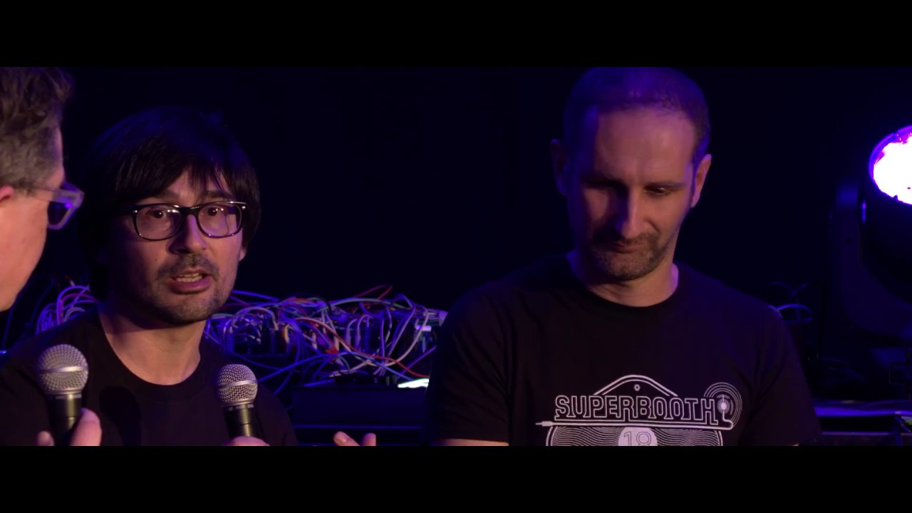 Emanuele Parravicini and Simone Capitani of Audio Modeling on