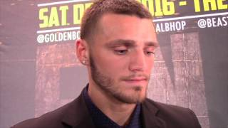JOE SMITH JR  -BERNARD HOPKINS IS EXPECTING ME TO COME BRAWL IT OUT. IM GOING TO SHOW HIM SOMETHING'