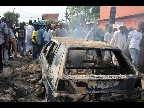 7 killed as bombing targets taxi in northeastern Nigeria