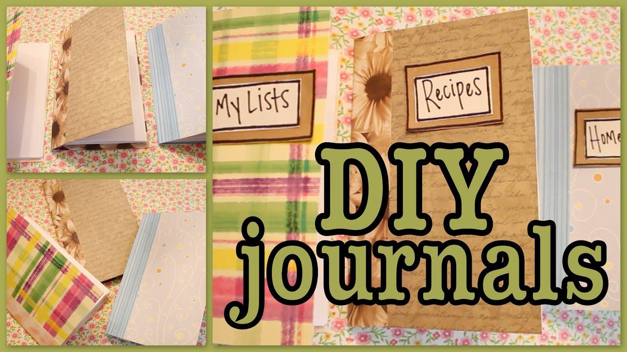 Diy journals youtube solutioingenieria Choice Image