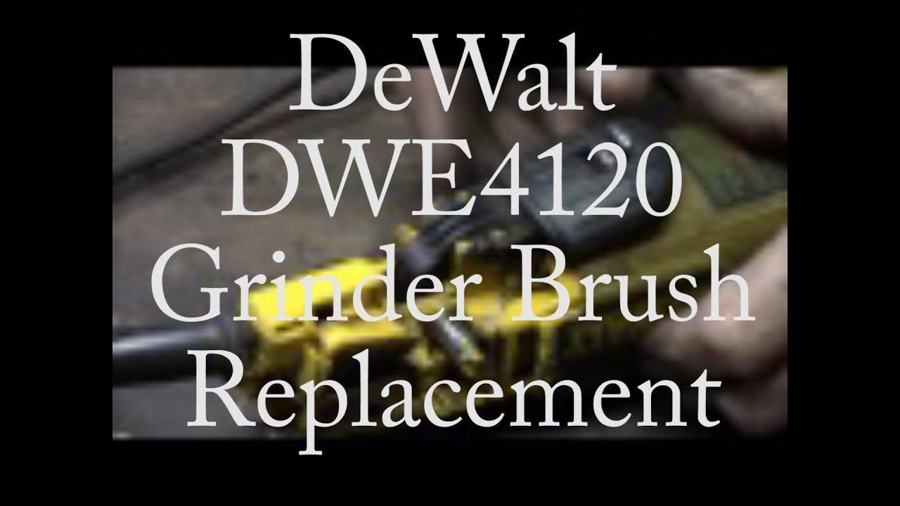 how to change dewalt grinder blade