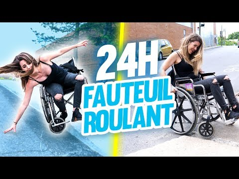 Living in a wheelchair for 24 hours   DENYZEE