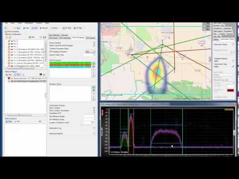 CRFS Software Simulation Tools: Part 9 (Multitarget geolocation)