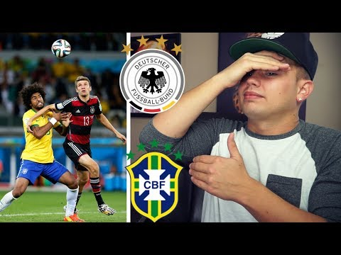 American REACTION To Germany VS Brazil 2014 World Cup Semi Final Highlight