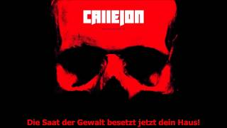 Callejon - 1000 PS [HQ] [Lyrics]