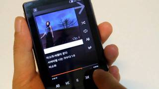 Cowon D3 MP3 / Android ver. Gingerbread - UI Scroll  -