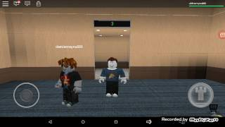 Aiden play Roblox normal elevator with my brother