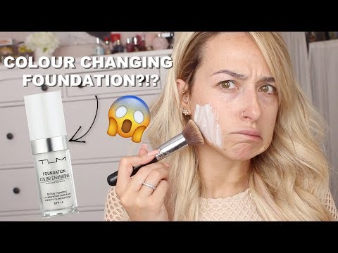 DOES IT WORK?? COLOR CHANGING FOUNDATION thumbnail