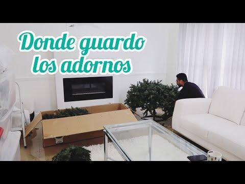 COMO GUARDAR EL ARBOL DE NAVIDAD🌲