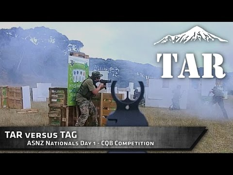 ASNZ Nationals 2015 - TAR versus TAG CQB Competition