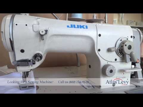 Juki LZ 2281 Zig Zag and Straight Stitch Industrial Sewing Machine Tag # 3707