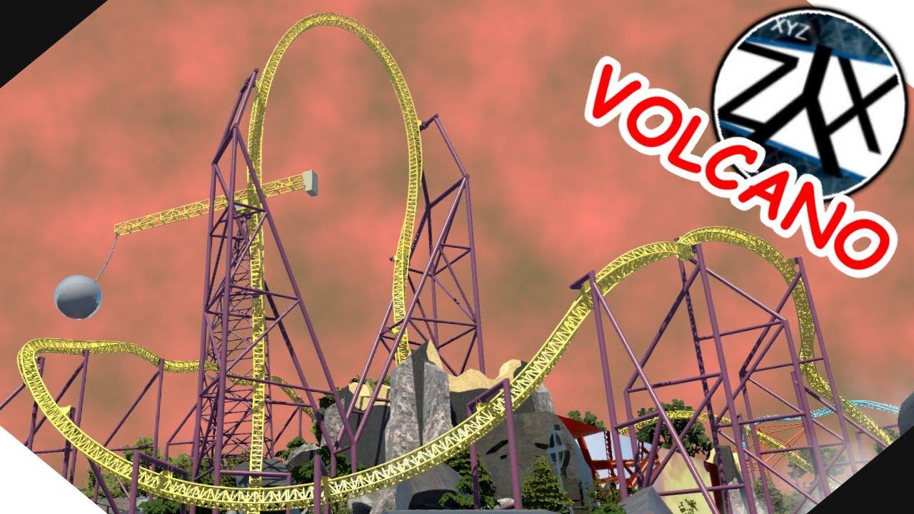 Volcano Drive In (Busch Gardens 2020 Coaster Demolition Parody) NL2