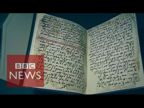 'Oldest' Koran found in Birmingham - BBC News