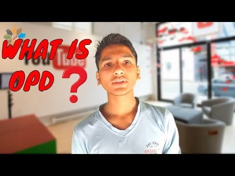 what is OPD ❓