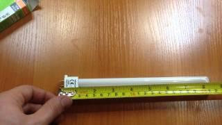 OSRAM DULUX S/E 11W/830 2G7, обзор энергосберегающей лампы