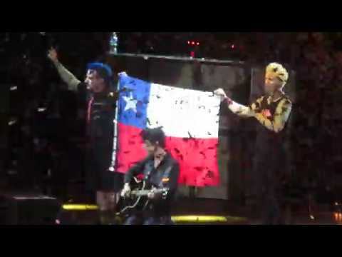 Green Day - Good Riddance (Time of your Life) (Santiago-Chile 2017)