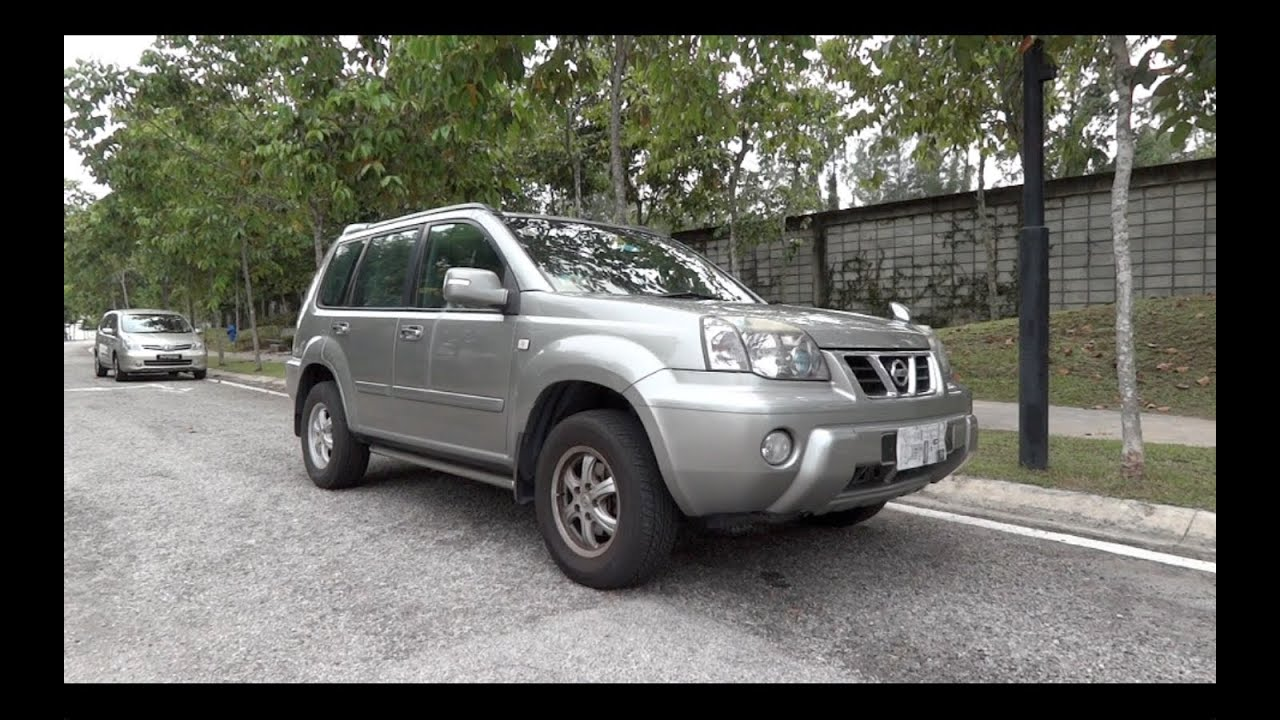 2005 nissan x trail 2 0 cvtc start up and full vehicle. Black Bedroom Furniture Sets. Home Design Ideas