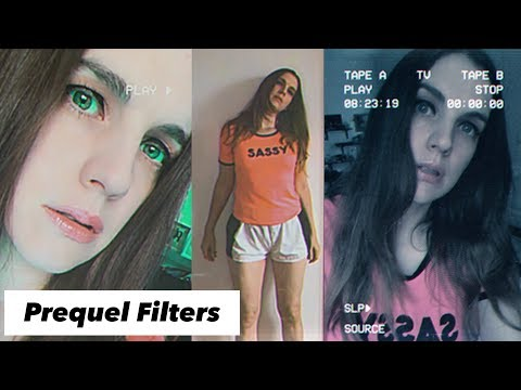 Prequel App Tutorial And Review (Video and Photo Effects)