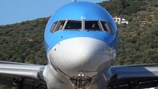 Thomson Boeing 757-200 - 2 SPECTACULAR TAKEOFFS from SKIATHOS - ATC Comms - JSI Planespotting!