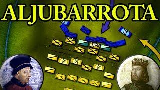 The Battle of Aljubarrota 1385 AD
