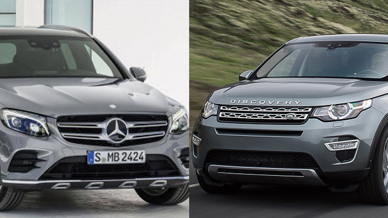 2016 mercedes benz glc e350 4matic vs 2015 land rover. Black Bedroom Furniture Sets. Home Design Ideas