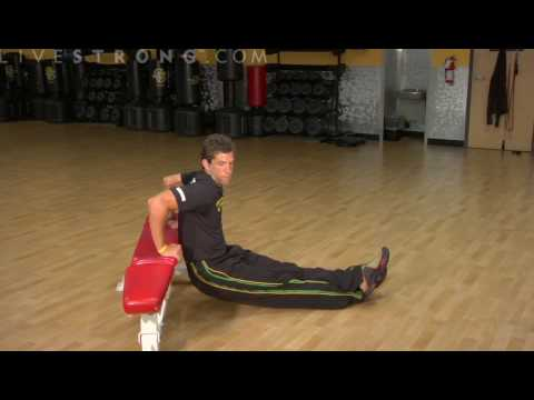 How to Do Bench Dip Exercises