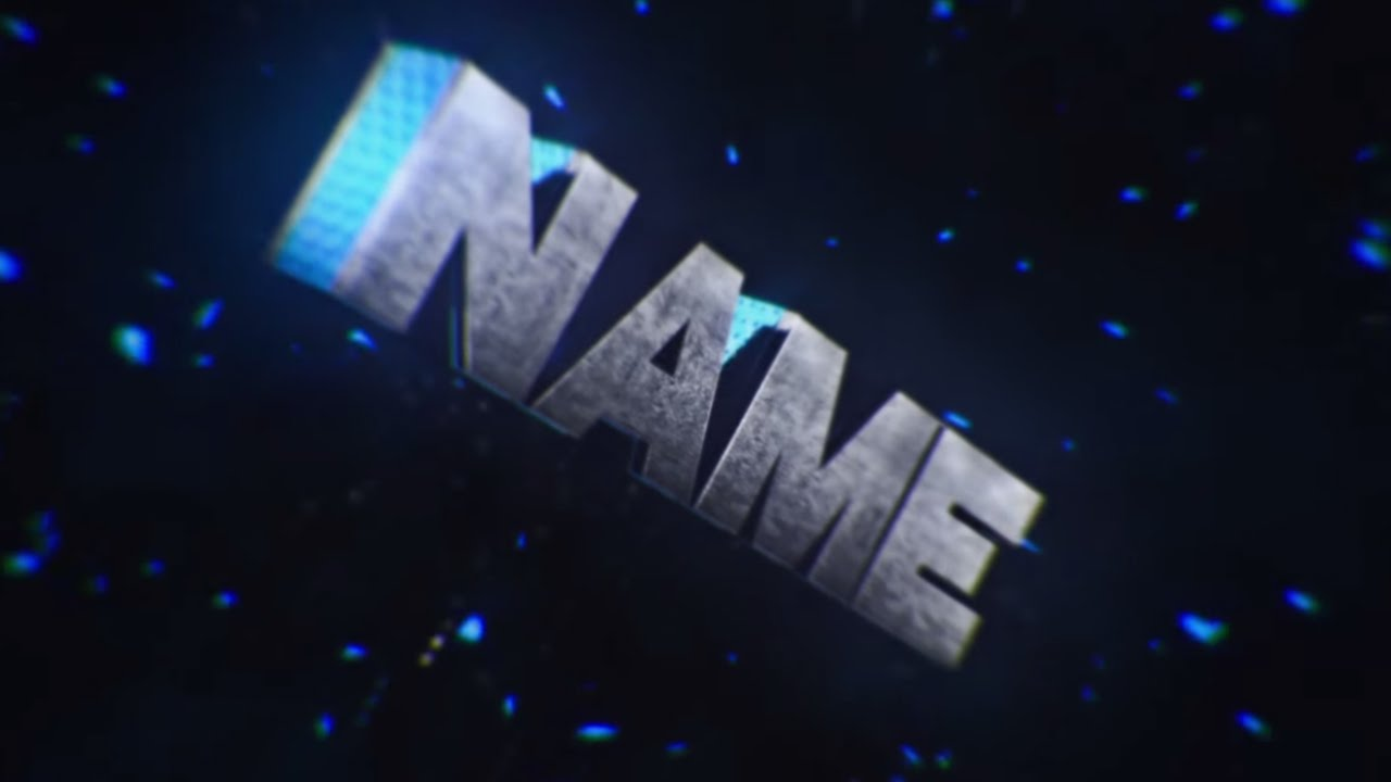 Free 3D Intro #28 | Cinema 4D/AE Template - YouTube
