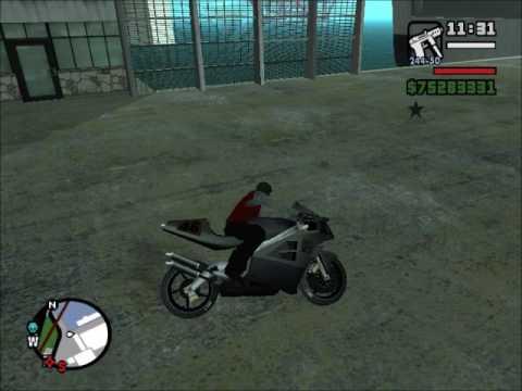 Truco Para No Caerse De La Moto En El Gta San Andreas