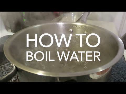 How To Make Safe Drinking Water - How to Boil Water For ...