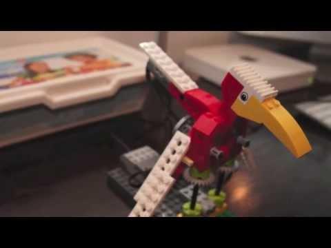 Lego education wedo 9580. Лего робот-юла - YouTube
