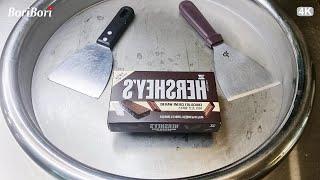 허쉬 초코웨하스 철판아이스크림( Hershey's  Chocolate Wafers ice cream rolls)