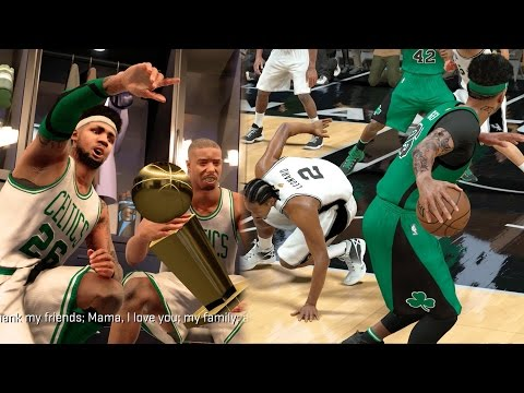 NBA 2k17 MyCAREER Playoffs - NBA Championship! Full Court Buzzer Beater + Ankle Breaker! NFG4 EP 109